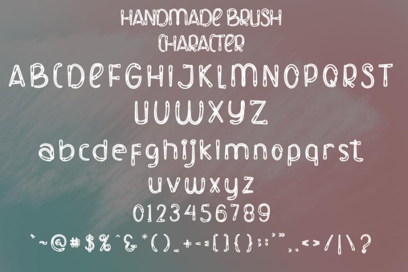 handmade-brush-modern-brush-font