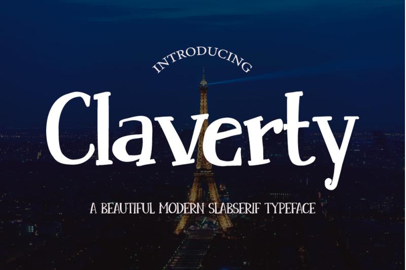 claverty-modern-slabserif