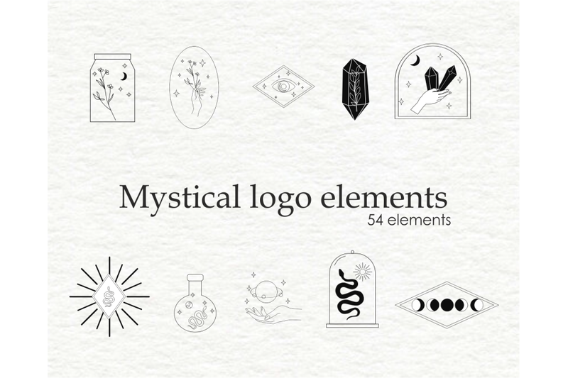 magic-logo-clipart-mystical-logo-templates-linear-logo