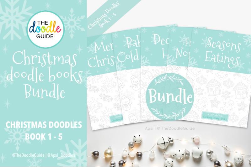 christmas-doodle-book-bundle
