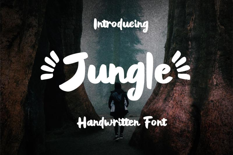 jungle-handwritten