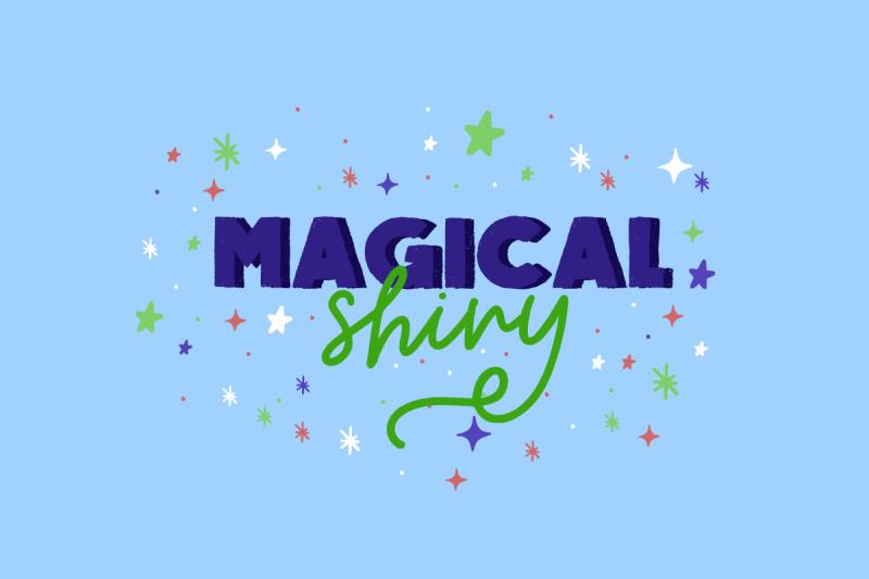 magical-shiny-handwritten-font