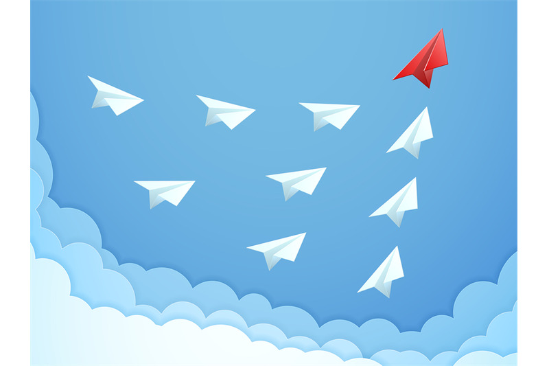 paper-plane-leadership-concept-business-teamwork-following-leader-s