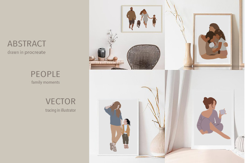 abstract-family-life-vector