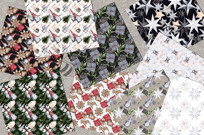 hygge-digital-paper-pack-watercolor-christmas-festive