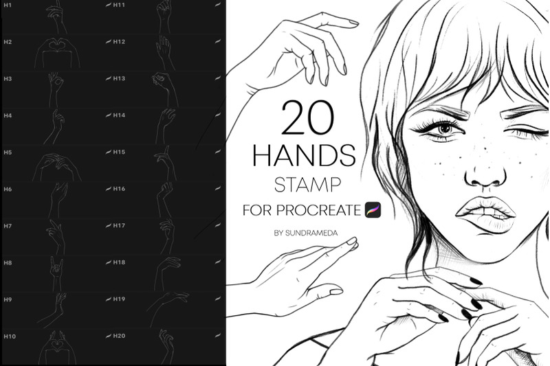 procreate-hands-stamps-brushes