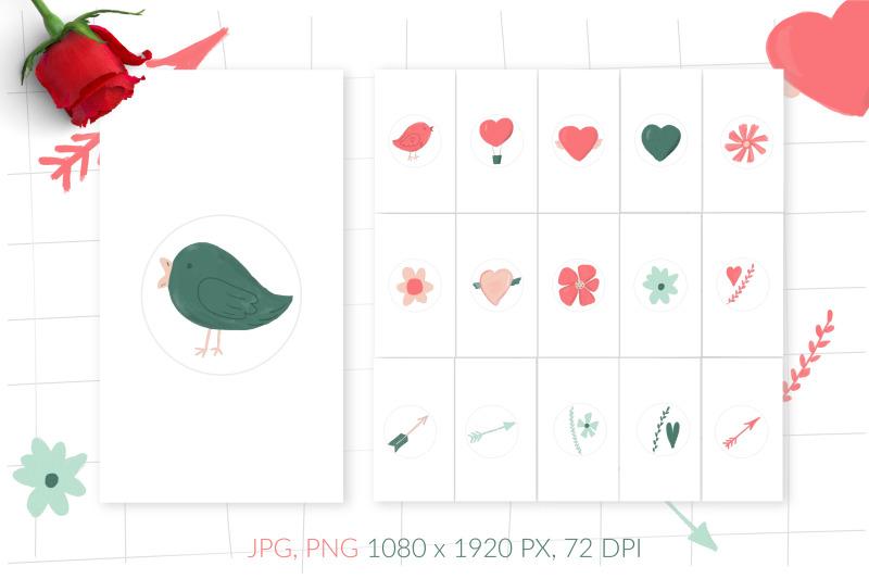 valentine-highlight-covers-for-social-media