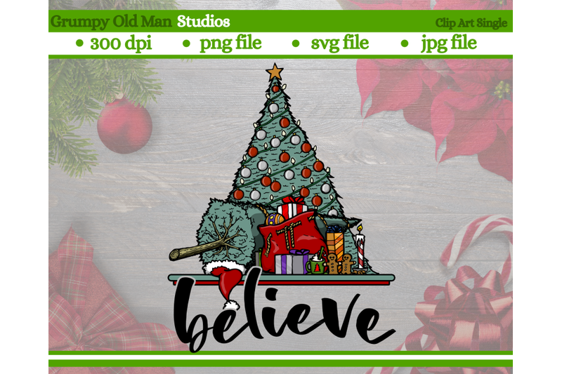 christmas-tree-with-wrapped-gifts-clip-art-believe-christmas-design