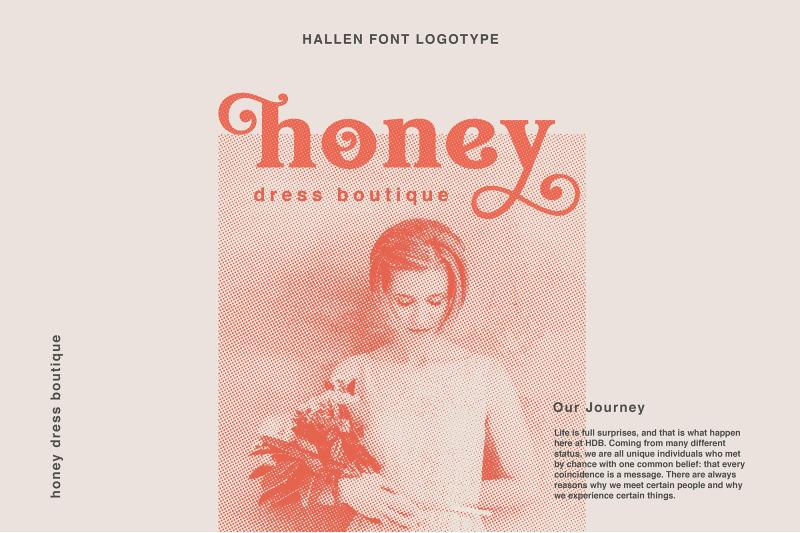 hallen-modern-classic-font