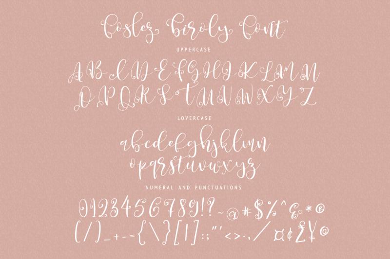 foslez-biroly-handwritten-font
