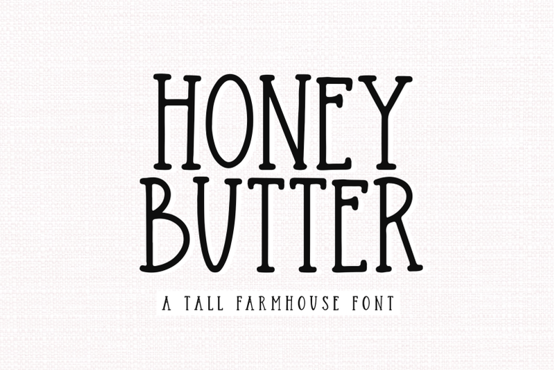 honey-butter-farmhouse-font