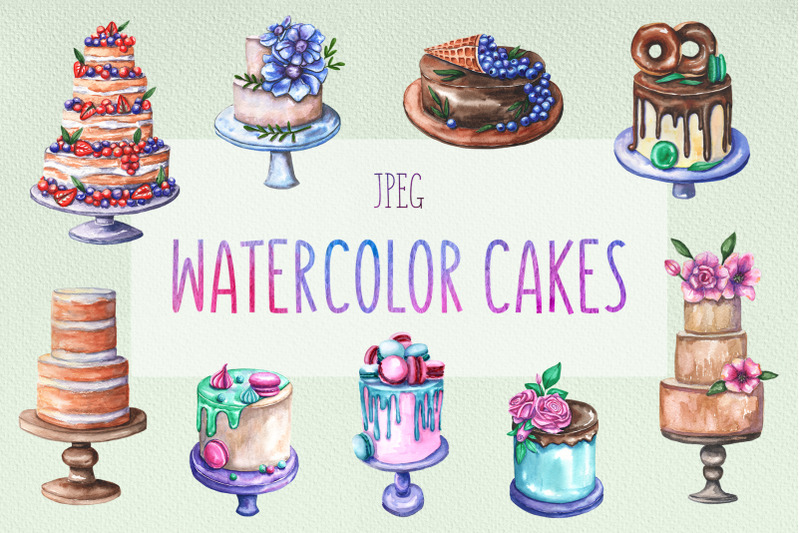 watercolor-cake-collection