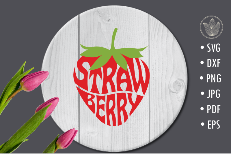 strawberry-svg-cut-file-lettering-design