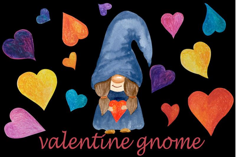 valentine-gnome-png-clipart-watercolor-cute-love-clip-art