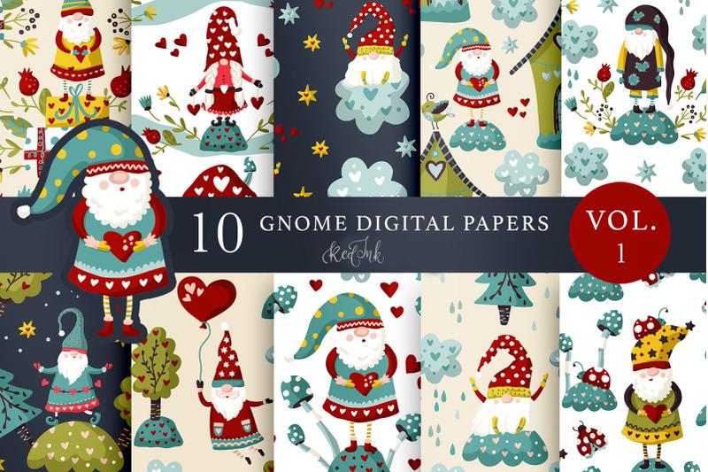 valentines-gnome-seamless-patterns-vol-1
