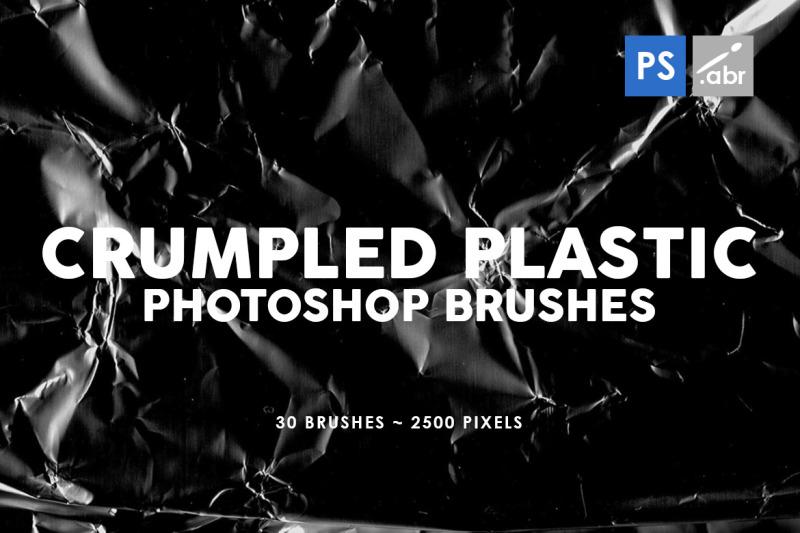 30-crumpled-plastic-photoshop-stamp-brushes