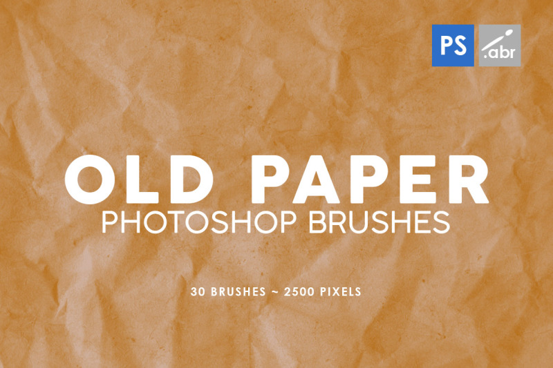 30-old-paper-photoshop-stamp-brushes-1