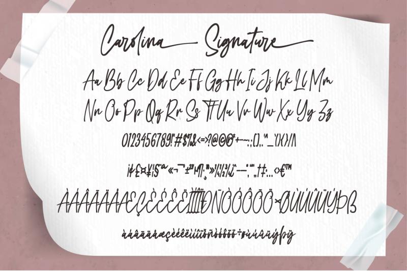 carolina-signature