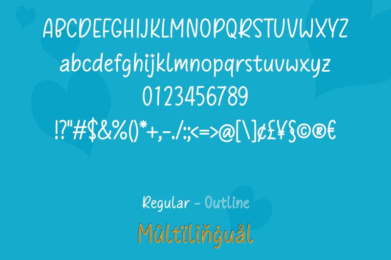 trostie-love-handwritten-font