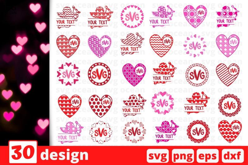valentine-monogram-svg-bundle