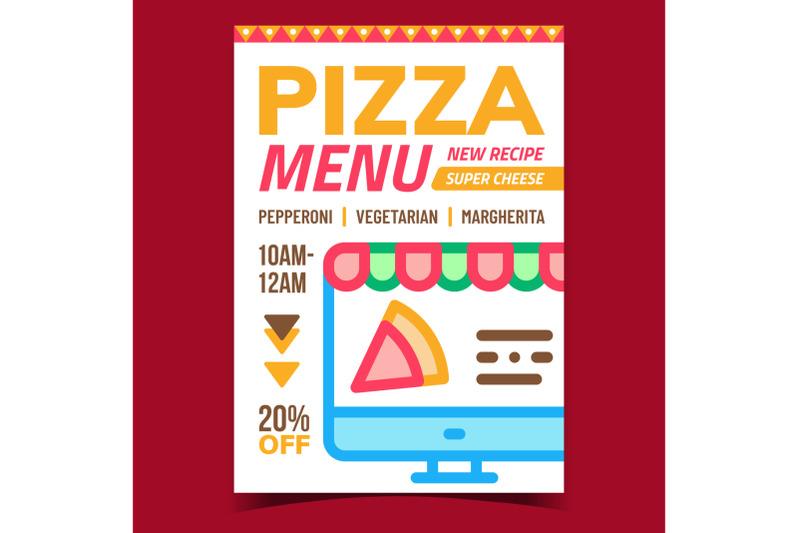 pizza-menu-creative-promotional-banner-vector