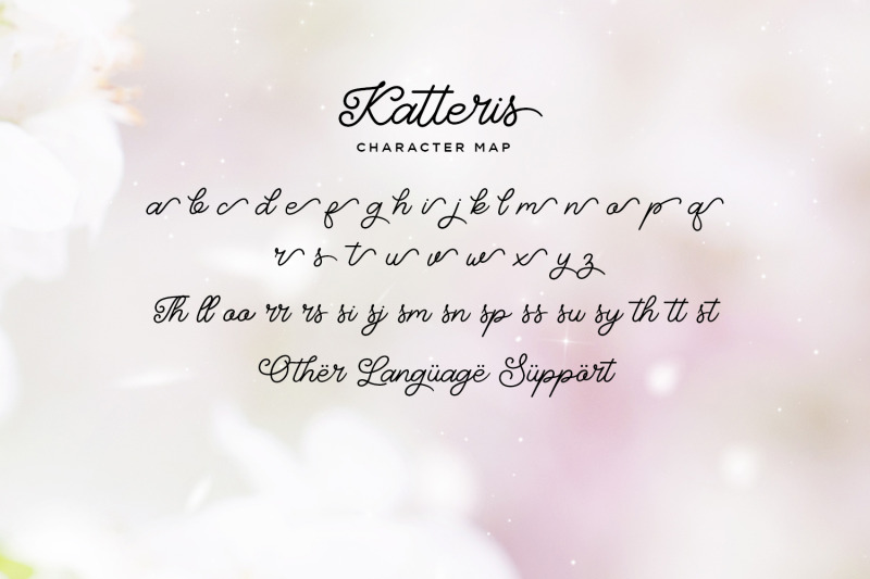 katteris-monoline-calligraphy-font