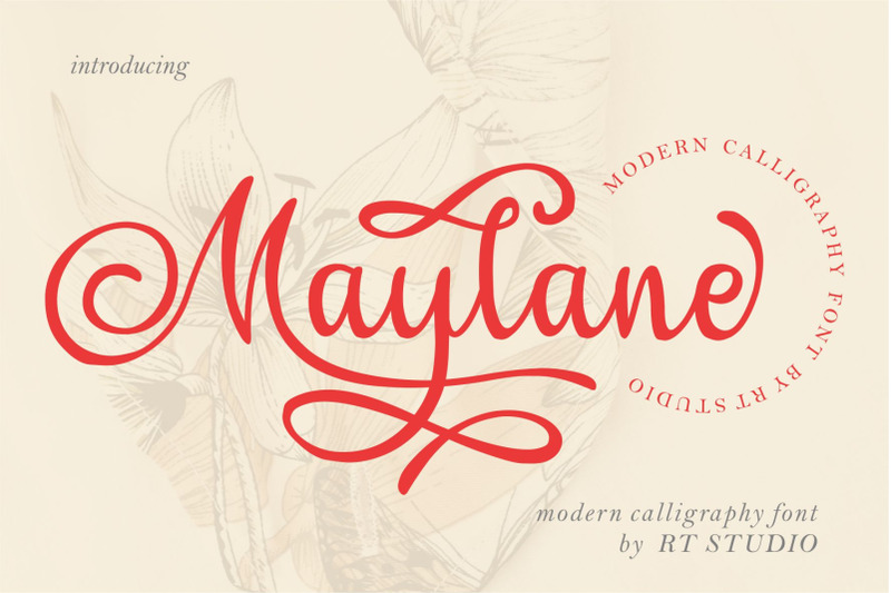 maylane-loving-font