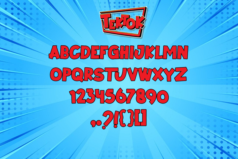 tektok-font