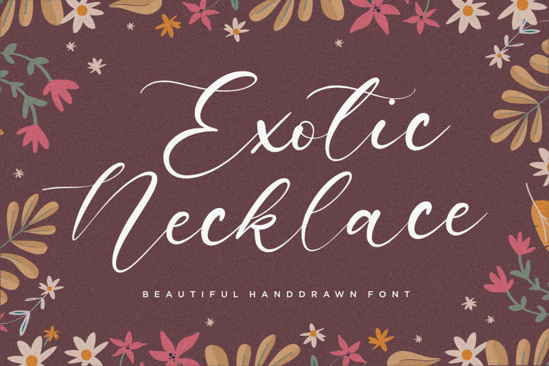 exotic-necklace-beautiful-handdrawn-font