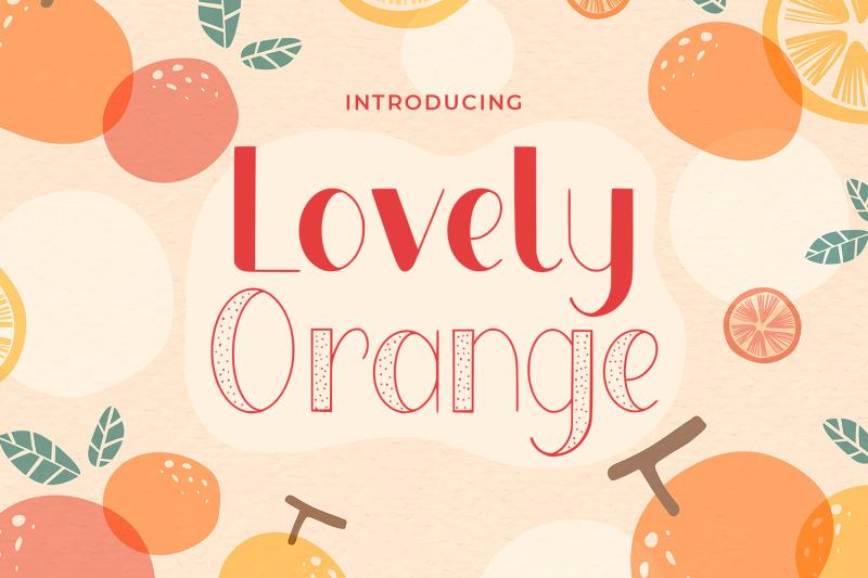 lovely-orange