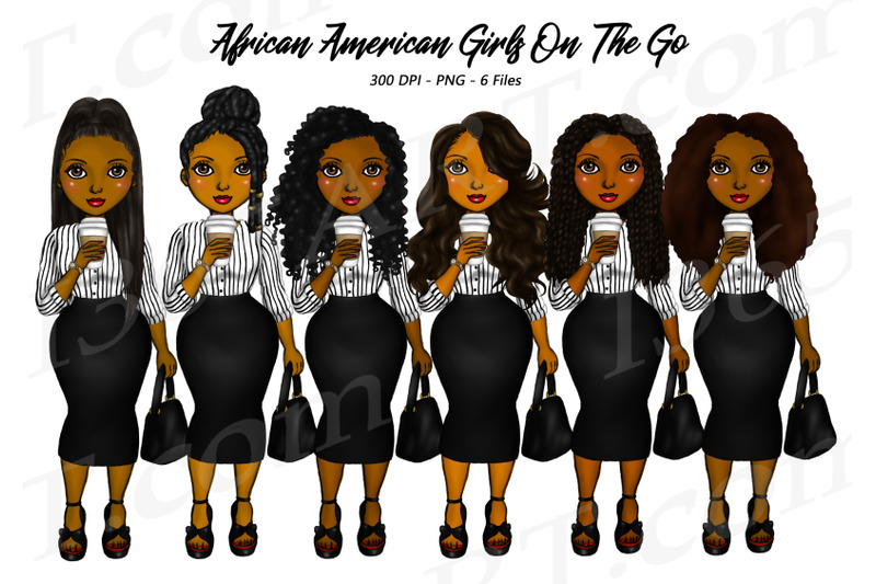 natural-hair-girl-boss-clipart-black-woman-clipart-fashion-png