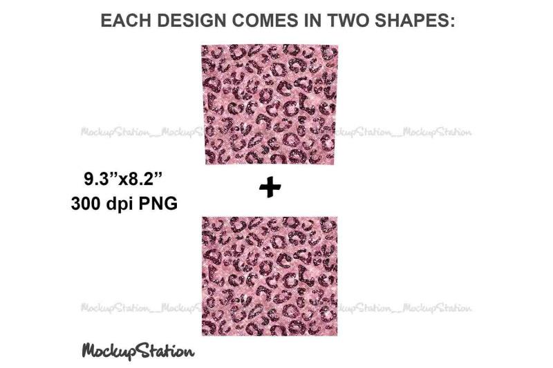 leopard-pink-glitter-20oz-skinny-tumbler-sublimation-design