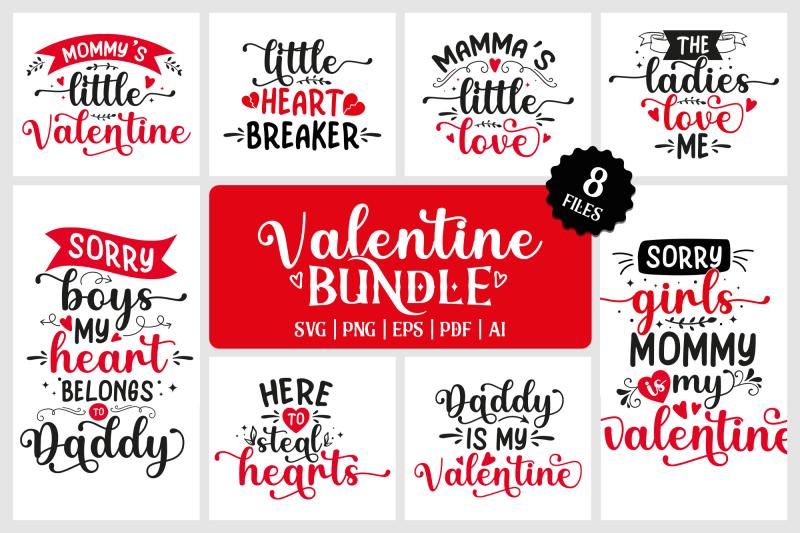 valentine-svg-bundle