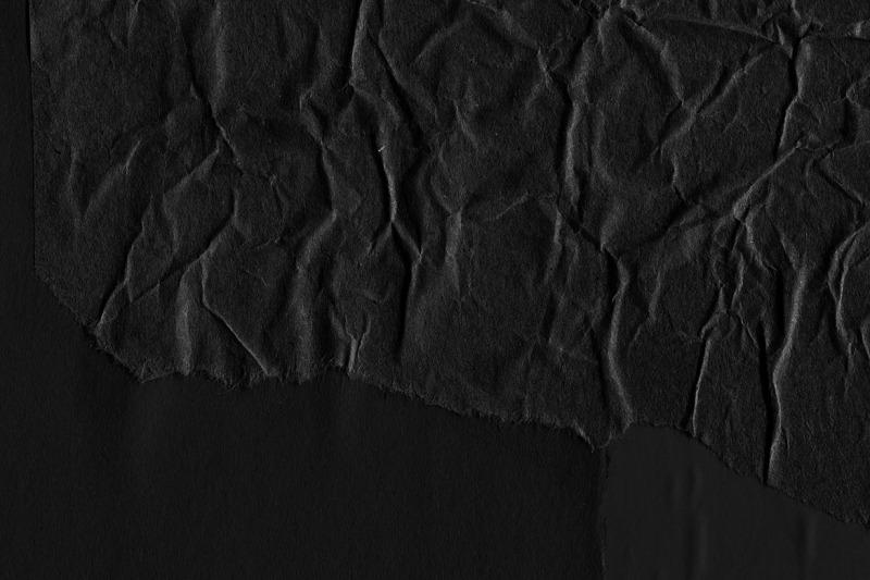 black-paper-collage-textures