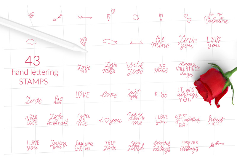 procreate-love-bundle-procreate-valetnines-day-stamps