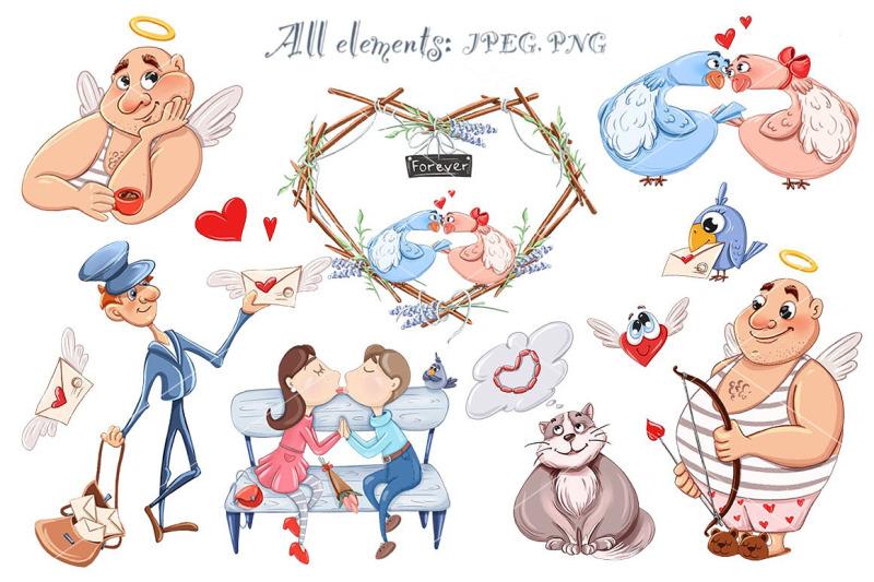 valentine-039-s-day-bundle-love-clipart