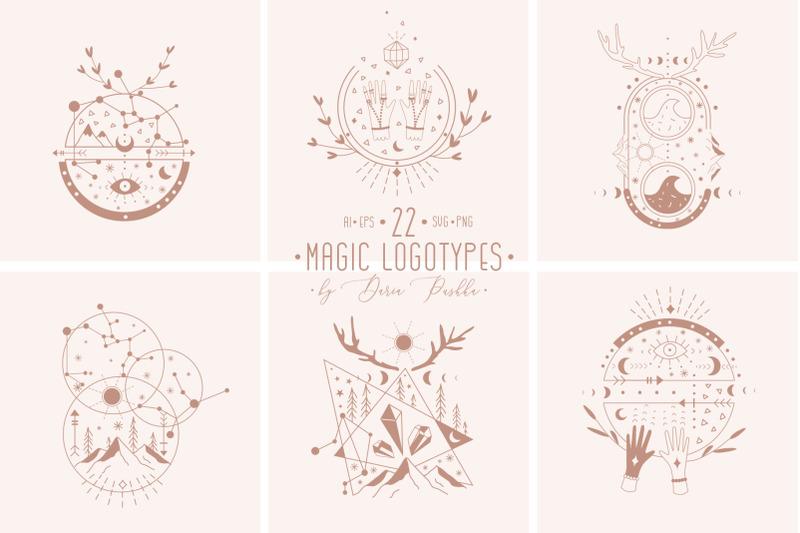 magic-moon-22-logo-templates