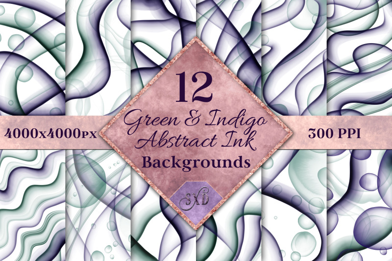 green-and-indigo-abstract-ink-backgrounds-12-images