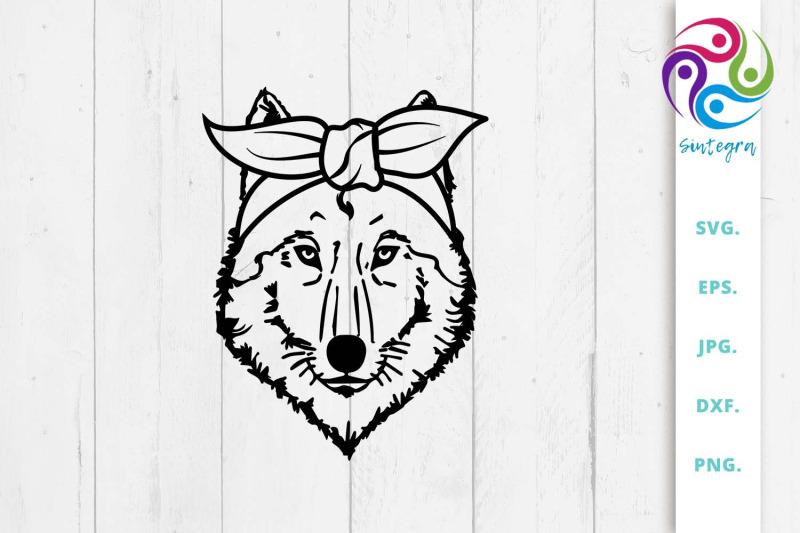 wolf-bandana-svg-wolf-scarf-svg