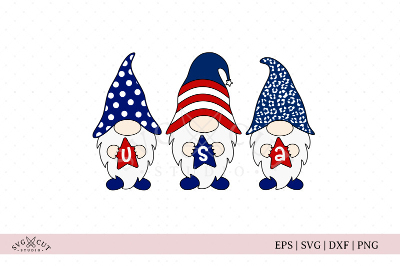 4th-of-july-gnomes-svg-files