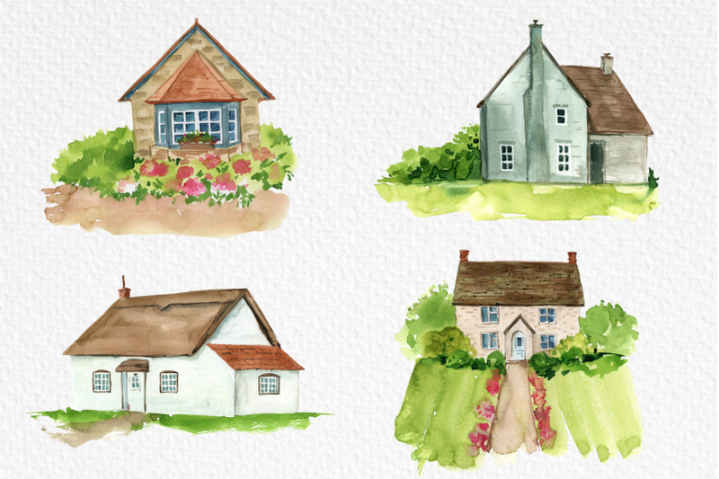 watercolor-spring-house-clipart