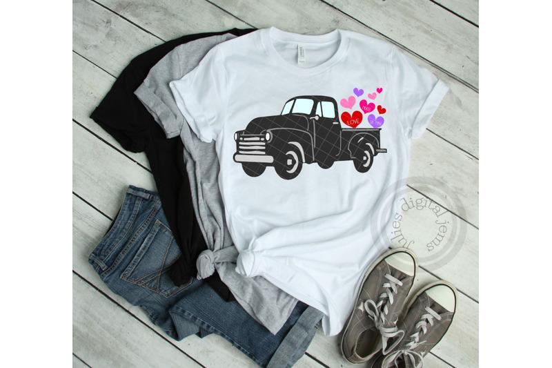 vintage-truck-valentine-svg-design