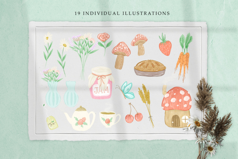 cottage-dreams-clipart-and-seamless-patterns