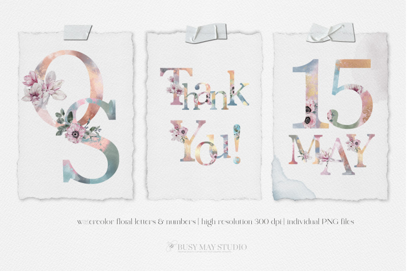 watercolor-floral-alphabet-numbers-rose-gold-letters-flower-letters-pn