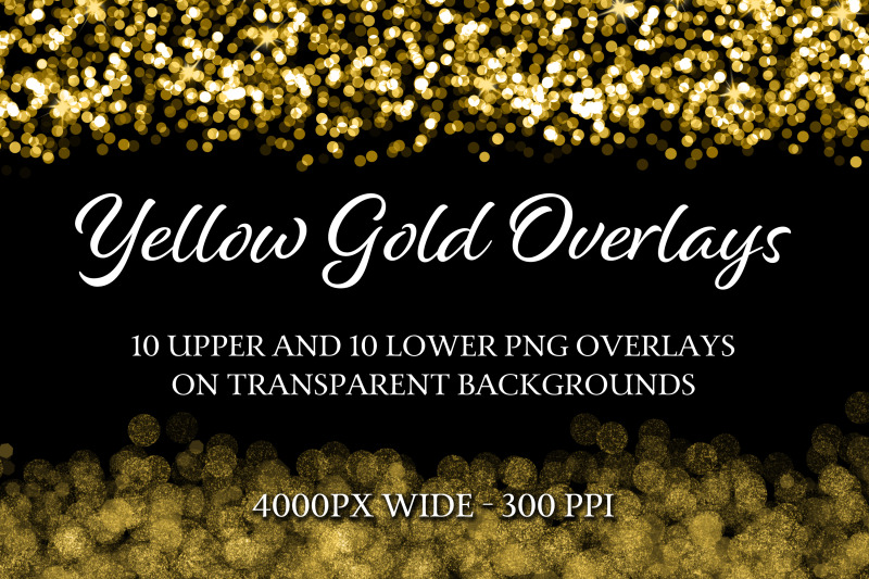 yellow-gold-overlays-10-upper-and-10-lower-png-overlays