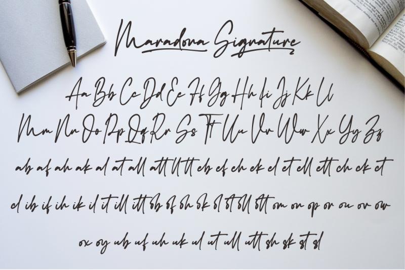 maradona-signature
