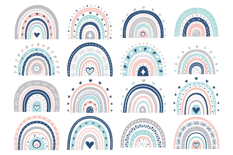 pastel-and-blue-rainbows-clipart-cute-rainbow-graphics