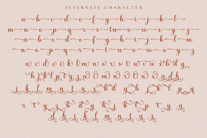 whetiya-love-script-font