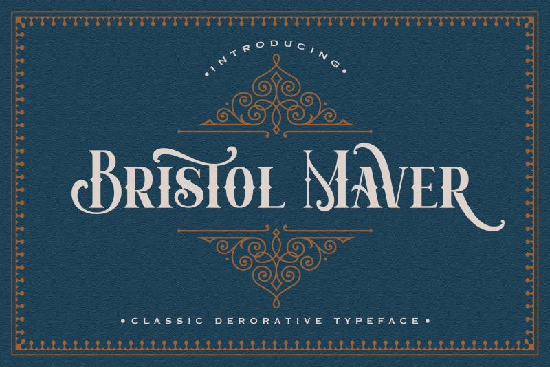 bristol-maver-decorative-font