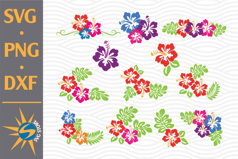 hibiscus-svg-png-dxf-digital-files-include